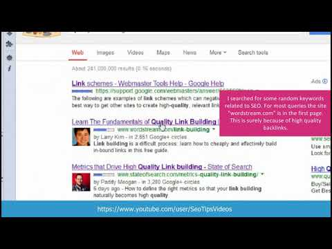 High Quality backlinks to increase rank in Google