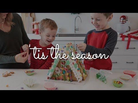 'Tis the Season to Create Gingerbread Houses