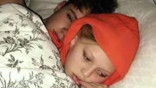 LOREN BEECH AND HARVEY IN BED! SHOOK!!