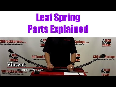 Leaf Springs and Add a Leafs Tutorial by SD Truck Springs 2015