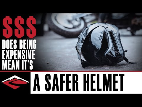Is a More Expensive Motorcycle Helmet Safer?
