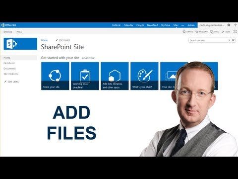 7 Ways To Add Files To A SharePoint 2013 Document Library