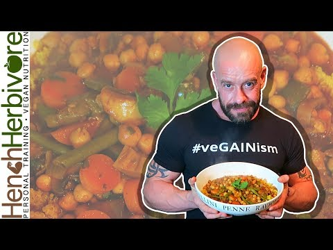 Aromatic Chickpea & Vegetable Tagine | High Protein