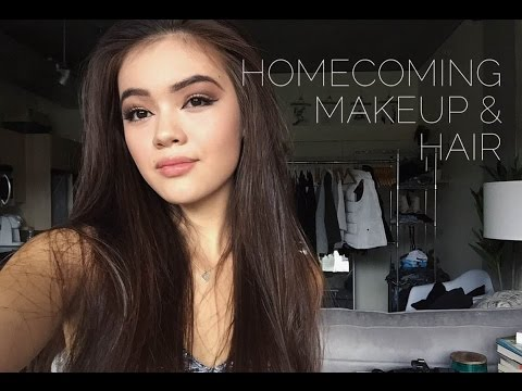 Homecoming Makeup and Hair   viviannnv