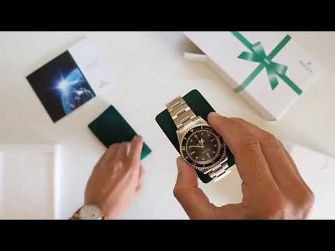 Rolex 5513 Submariner | Fresh From Rolex Service | Vintage Rolex | What's in the box | Unboxing