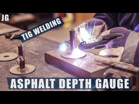 Making an Asphalt Depth Gauge | JIMBO'S GARAGE