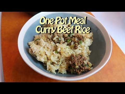 One Pot Curry Beef Rice Cooking Vlog 57