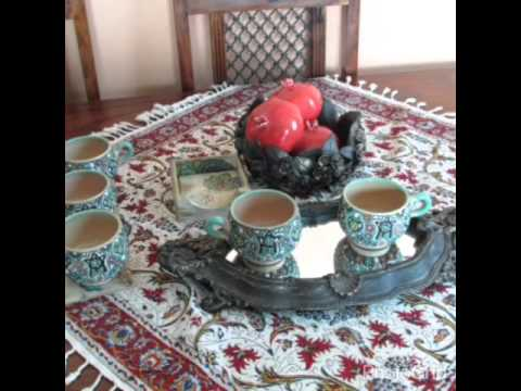 Handmade Tapestry Cotton table cloth , Bed Cover (ghalamkari)