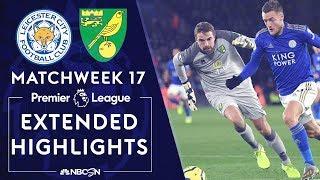 Leicester City V Norwich City PREMIER LEAGUE HIGHLIGHTS 121419 NBC Sports