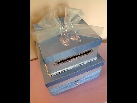 Cinderella Card Box Tutorial For Quinceaneras