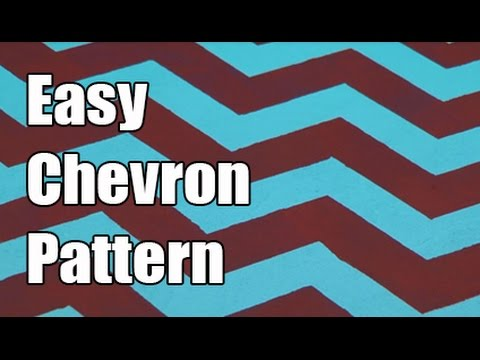 Easy Chevron Pattern