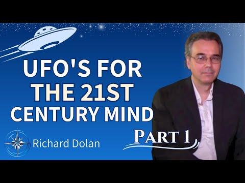 Richard Dolan- UFO's for the 21st Century Mind- Part I