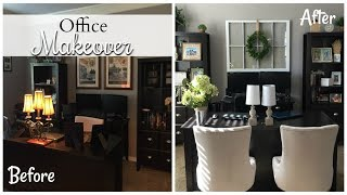 OFFICE MAKEOVER | Farmhouse Style