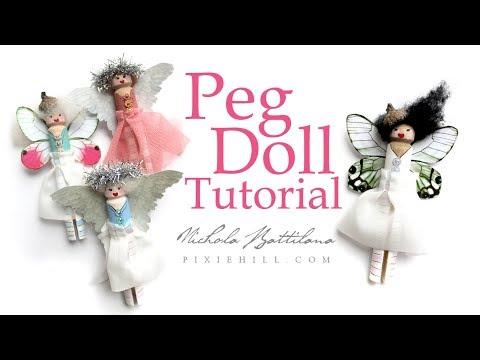 Peg Doll Tutorial