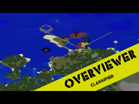 Overviewer Tutorial: How to create a high detail 2d map of your minecraft world!!