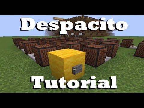 Despacito - Minecraft Note Block Doorbell Tutorial