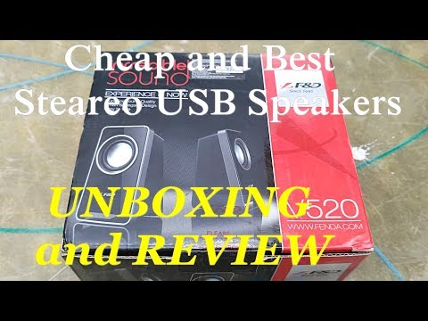 Cheap and best usb speakers for Laptop and PC | |UNBOXING| |REVIEW| in |HINDI||