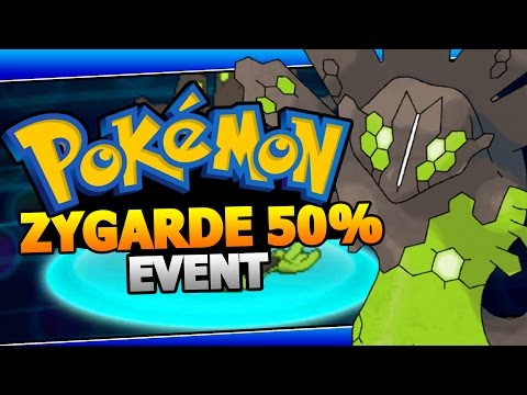 ZYGARDE 50% Form Event - Pokemon X/Y ORAS Zygarde Mystery Gift Event