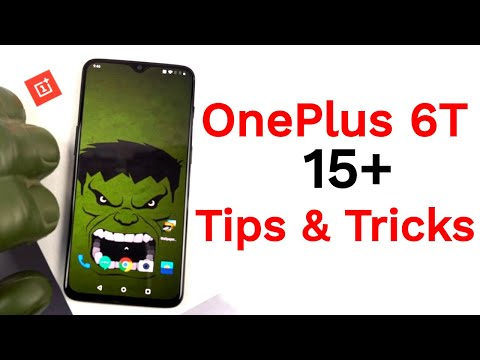 OnePlus 6T 15+ Tips and Tricks