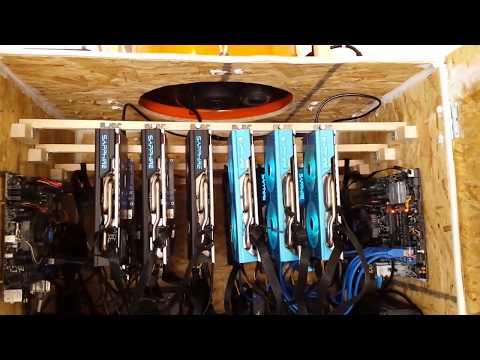 Garage GPU mining cabinet