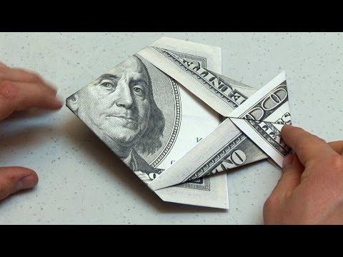 Easy Origami Dollar Bill Money Fish Instructions