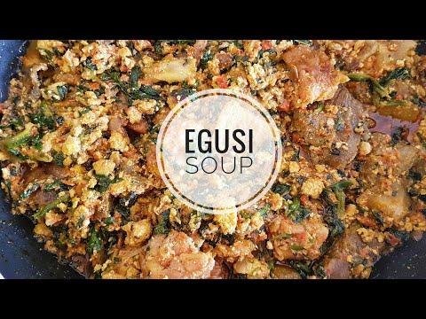 How to cook Egusi soup |efo elegusi | Nigerian food