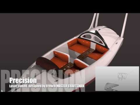 New wooden power boat Kit, Free plans...