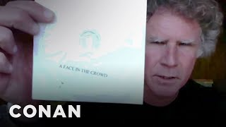 Will Ferrell Is Growing Out His Hair & Watching Bootleg DVDs - CONAN on TBS