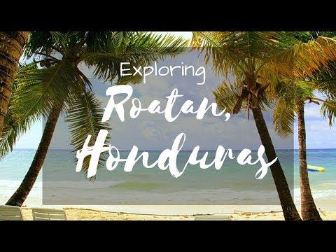 ROATAN, HONDURAS ~ Exploring outside of the Cruise Port