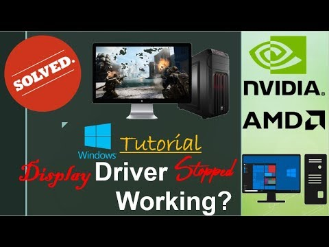 [Solved]Display driver stopped working and has recovered|Nvidia|AMD|Graphics|
