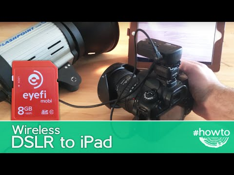 Wireless DSLR to iPad Connection