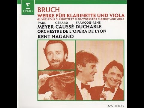 N°1 Andante - Eight Pieces for Clarinet, Viola & Piano Op.83 - Paul Meyer & Gérard Caussé