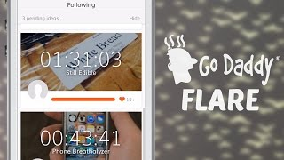 GoDaddy Launches Flare App For Startup Feedback