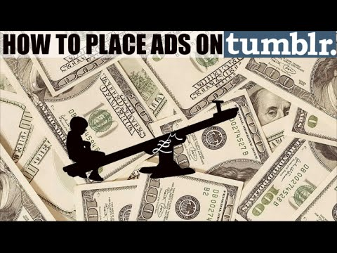 How to Place Ads on a Tumblr Blog