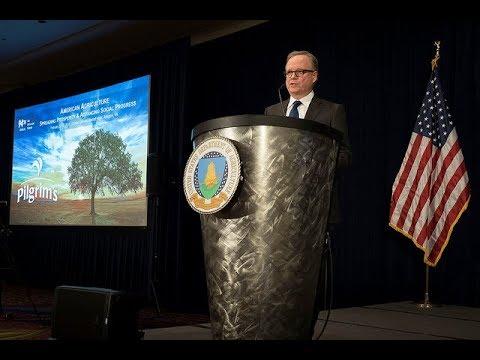 Bill Lovette's-Pilgrim's-Speech at the USDA's AG Outlook Forum 2018