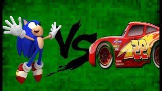 Mugen Lightning Mcqueen Me Vs Sonic The Hedgehog