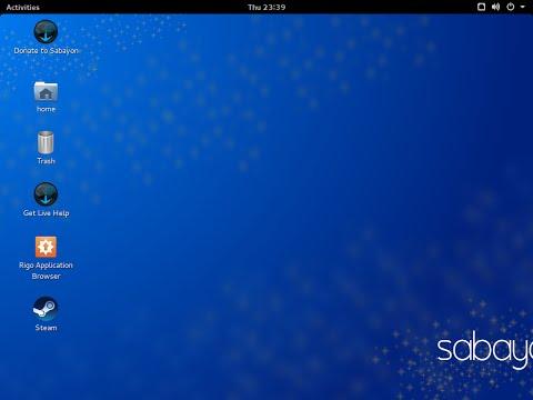 Sabayon Linux 15.02.1 amd64. GNOME Desktop.