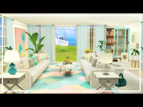 SIMS 4 SUMMER FAMILY LIVING ROOM 🌞 CC List