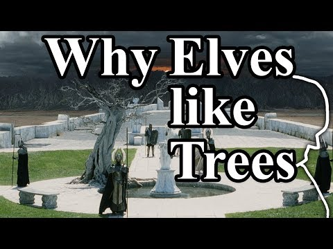 The Story of the Dead White Tree in Gondor - Tolkien's Lore - LotR - Why do the Elves like Trees?