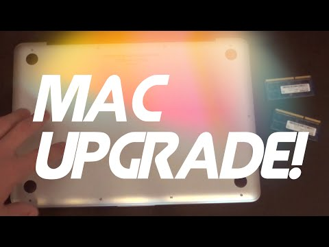 How To Install RAM Into The Apple MacBook Pro Laptop DIY (mid 2012)