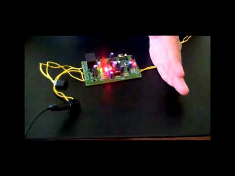 Infrared Intruder Alert Security System