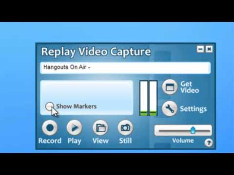 How to Record Live Webinars with Replay Video Capture 7