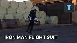 This guy built a real-life Iron Man flight suit