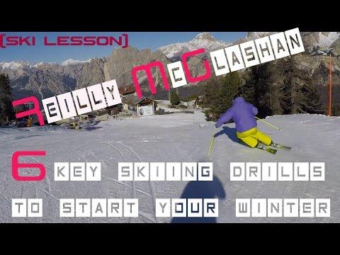 Reilly McGlashan    6 key skiing drills to start your winter Ski Lesson