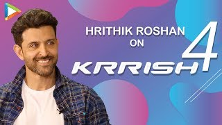 """""""Krrish 4 script is ready, we are good to go but .."""": Hrithik Roshan"""
