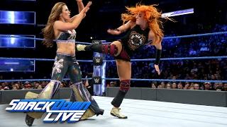 Becky Lynch vs. Mickie James: SmackDown LIVE, Feb. 14, 2017