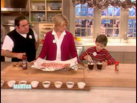 Emeril and E.J.'s Oven-Barbecue Ribs ⎢Martha Stewart