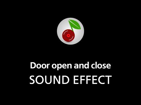 🎧 Door open and close SOUND EFFECT