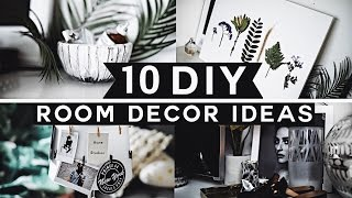 10 DIY Room Decor Ideas for 2017 (Tumblr Inspired) 💡 ✂️ 🔨 Minimal & Affordable!