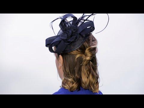 Elegant Royal Wedding Short Hairstyle